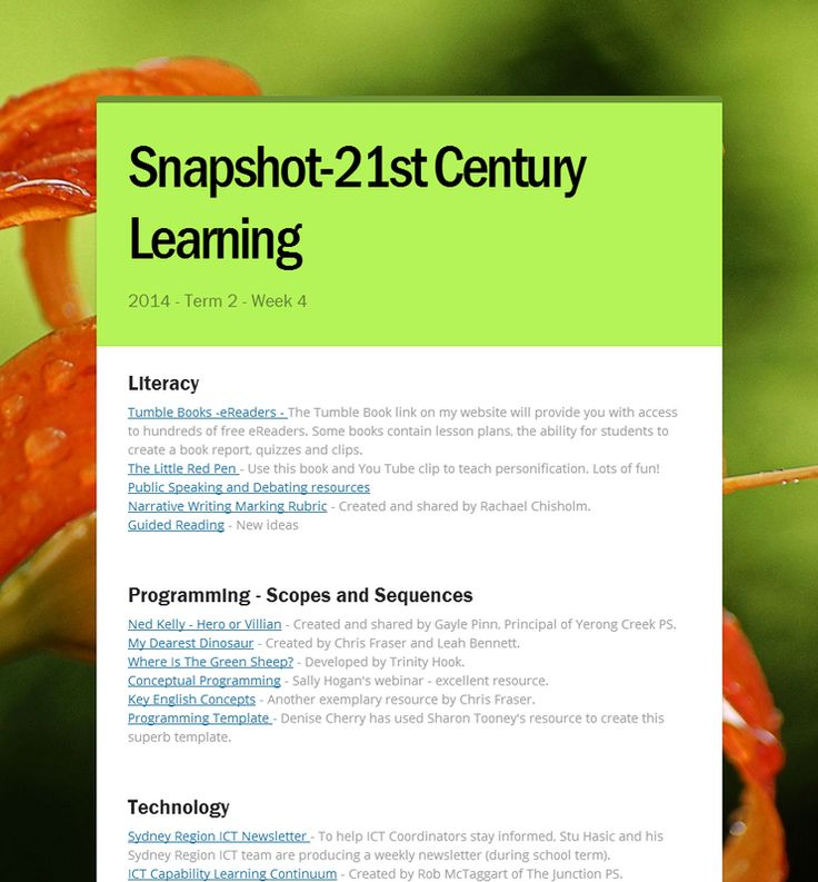what is 21st century learning pdf