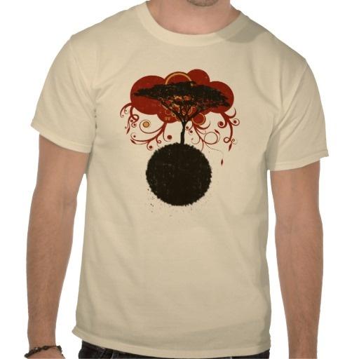Africa Sunrise T Shirt