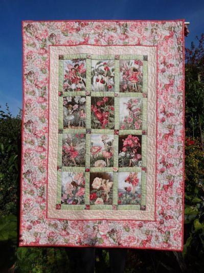 Flower Fairy Quilt Kit Patchwork Pink Quilts Quilt