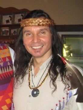 """Paul """"Che Oke Ten"""" wagner is a Native American who hails from Wsaanich (Saanich) tribe of southern Vancouver Island, British Columbia. He is a man of many talents. Music, videography, photography, he shares with us traditional songs and stories of our Coast Salish Tribal ancestors."""