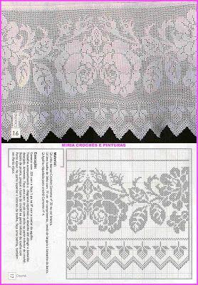 MIRIA crochets ET TABLEAUX: lock-out de CROCHET AVEC ROSES