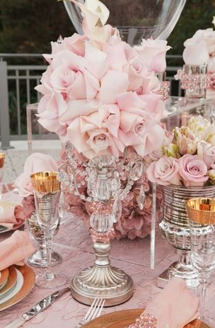 romantic vintage decorating pinterest | Special Touches for Your Rose Pink Vintage Wedding Posted May 26, 2013