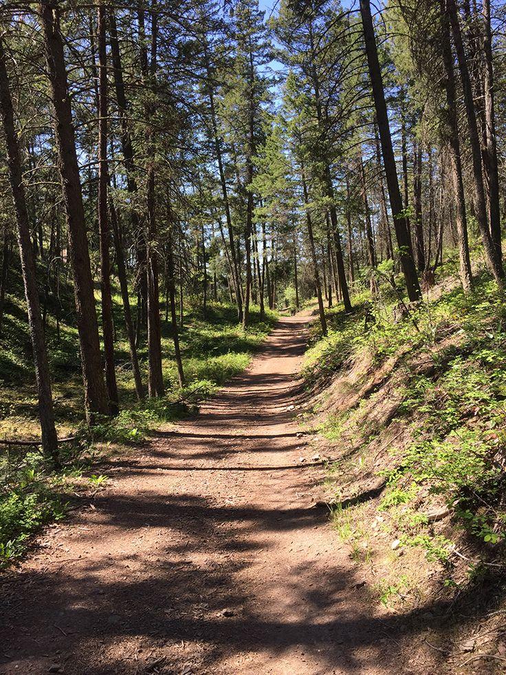 Hiking Knox Mountain in Kelowna, British Columbia
