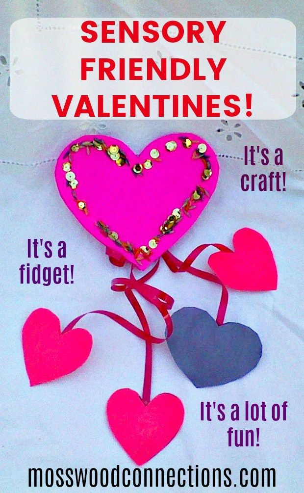 Sensory Friendly Valentines Fidget Toy #Valentines #Sensory #fidgettoy