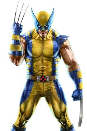 Wolverine in Marvel Puzzle Quest. Marvel's X Men character Wolverine / Logan
