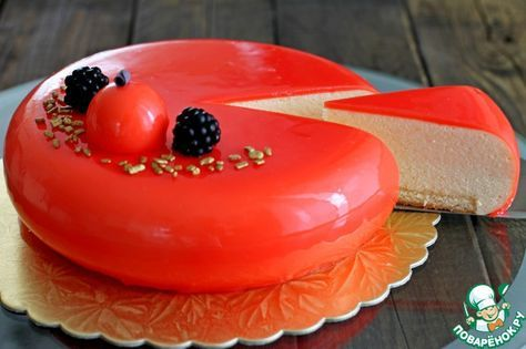 Сливочно-абрикосовый торт - кулинарный рецепт