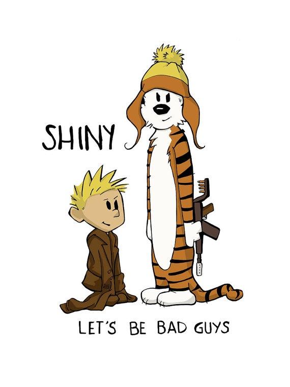 calvin/hobbes + firefly!Pop Culture, Heh Heh, Calvin Hobbes, Bad Guys, Calvin And Hobbes, Movie Quotes, Phone Backgrounds