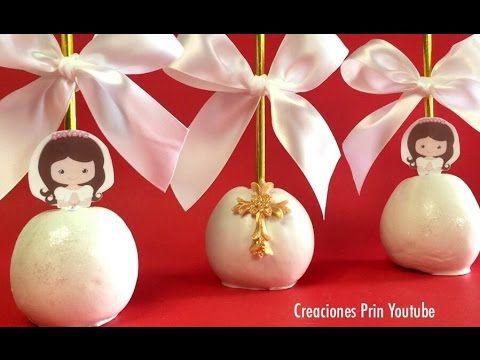 Gelatinas de Yogurt Para Primera Comunión o Confirmación - YouTube
