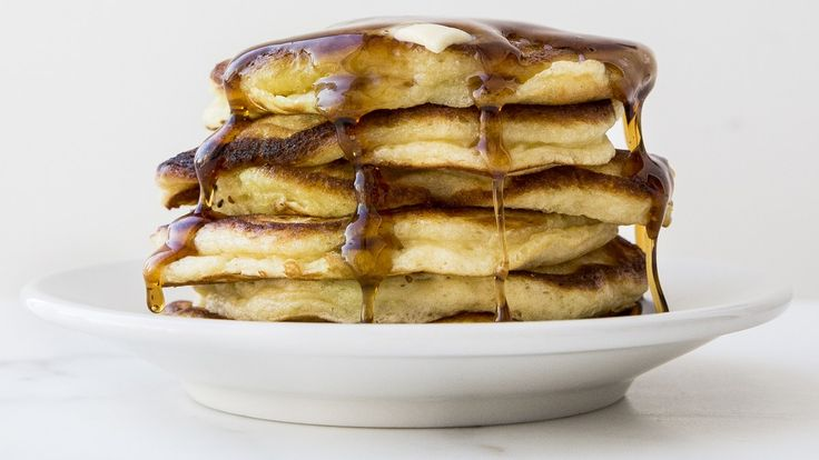 To feed a larger group for breakfast, double the pancake recipe. Keep pancakes warm in a 250° oven between batches.