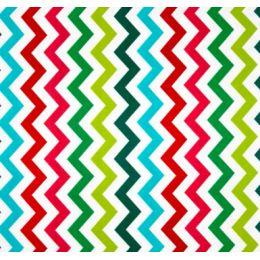 Shi Chevron in Multi Cotton Fabric by Michael Miller PO545