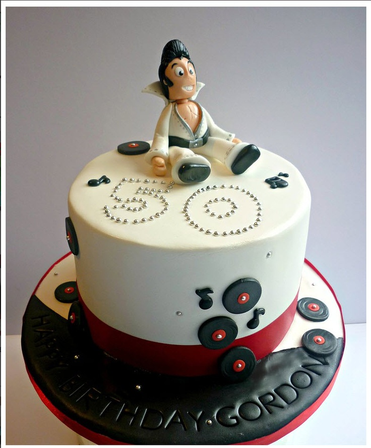 120 Best Cakes - Elvis Images On Pinterest