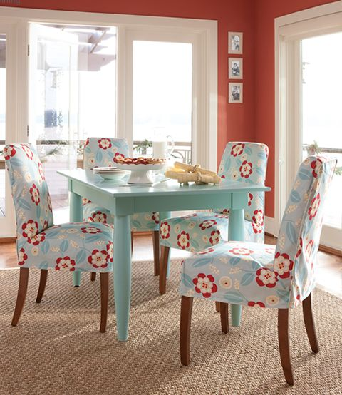Cottage Dining Room: 154 Best Images About Turquoise And Red Decor On Pinterest