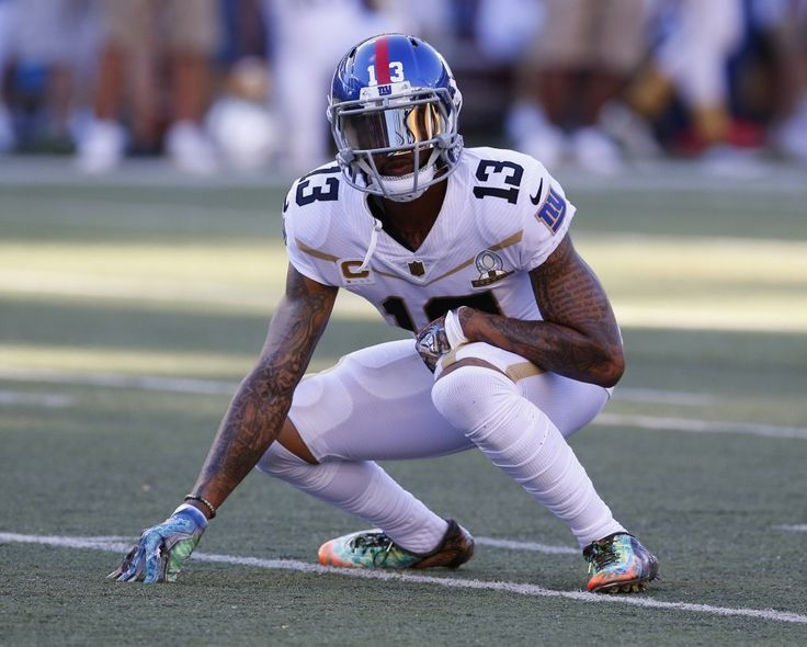 Odell Beckham Jr.'s cousin is massive and aiming for the NFL