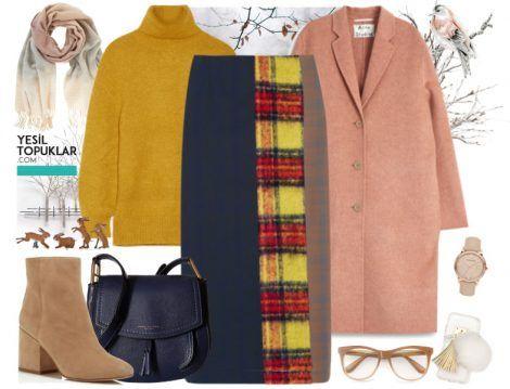 Kolej Stili Tesettür Giyim Kombinleri 2017