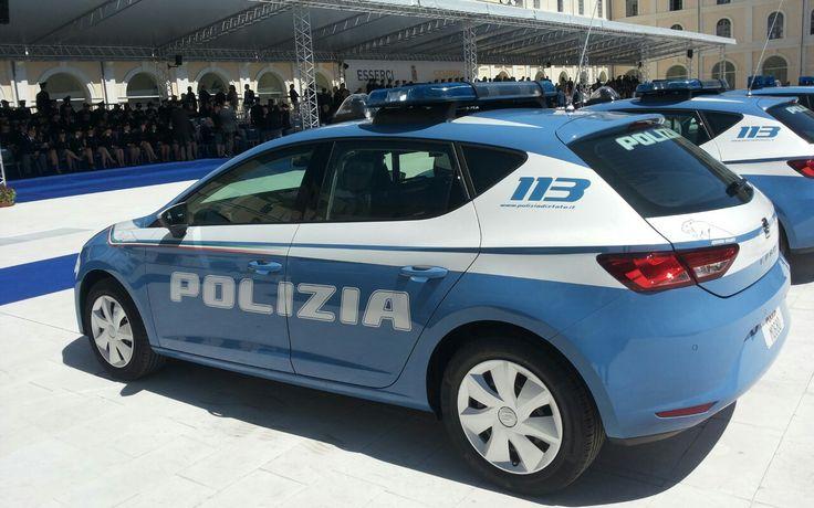 SEAT LEÓN POLIZIA DI STATO