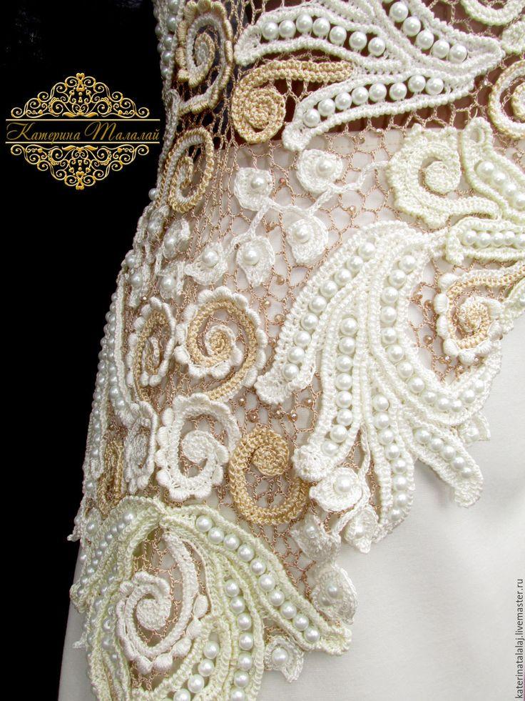 Платье ирландское кружево свадебное