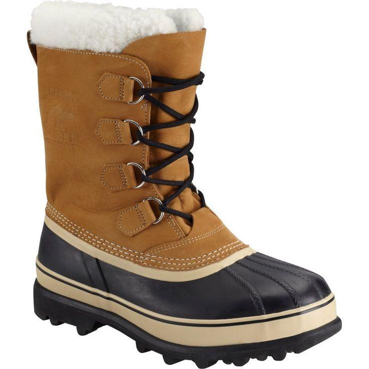 Sorel Men's Caribou Waterproof Winter Boots, Buff