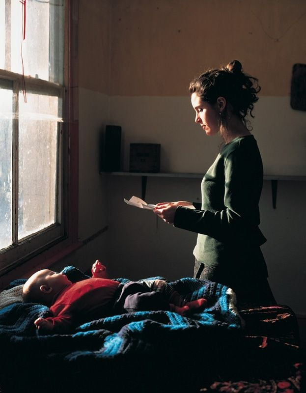 Woman Reading Possession Order by Tom Hunter, based on Girl Reading a Letter at and Open Window by Vermeer