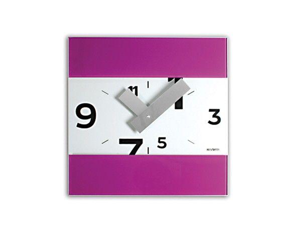 Orologio #Viola da Parete. #Design #Casa #Ufficio