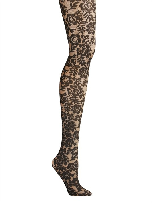 Gossip Girl stylist Eric Daman for DKNY Floral Lace Tights $20.00: Fashion Passion, Lace Tights, Dkny Lace, Floral Tights, Eric Daman, Floral Lace, Dkny Floral, Dkny Hosiery, Floral Hosiery