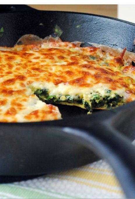 Low FODMAP and Gluten Free Recipe - Herb and Brie frittata - (updated) http://www.ibssano.com/low_fodmap_recipe_herb_brie_frittata.html