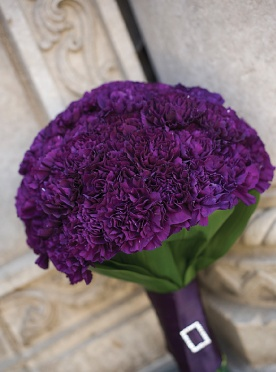 Carnations Wedding Boquet