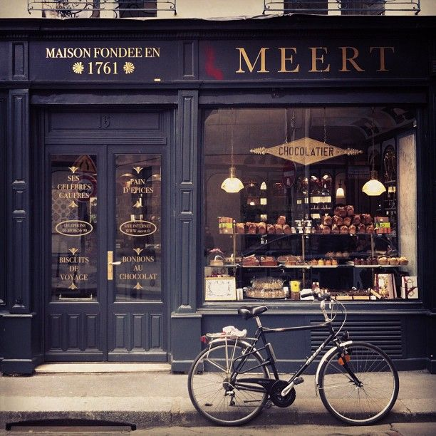 Meert Paris, Chocolaterie - Confiserie. Photo by artfullyadored via instagram