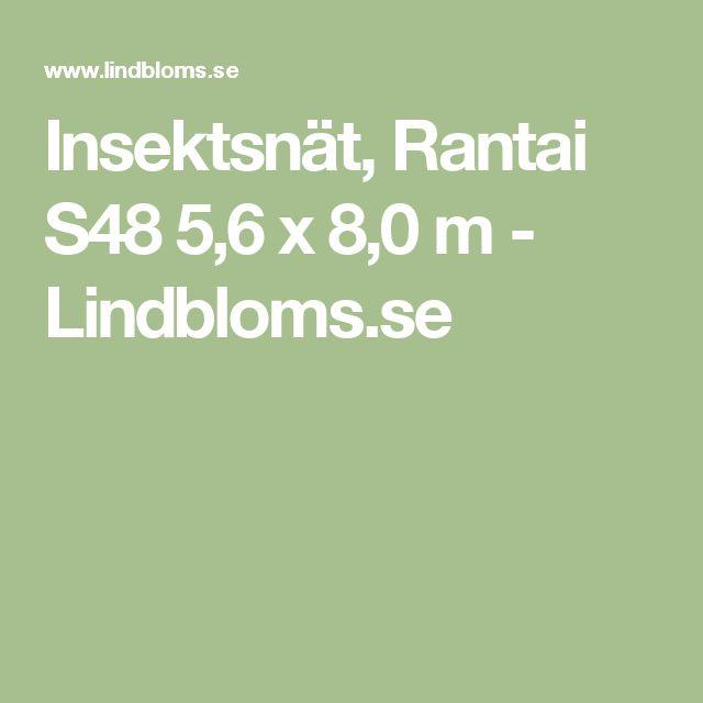 Insektsnät, Rantai S48 5,6 x 8,0 m - Lindbloms.se