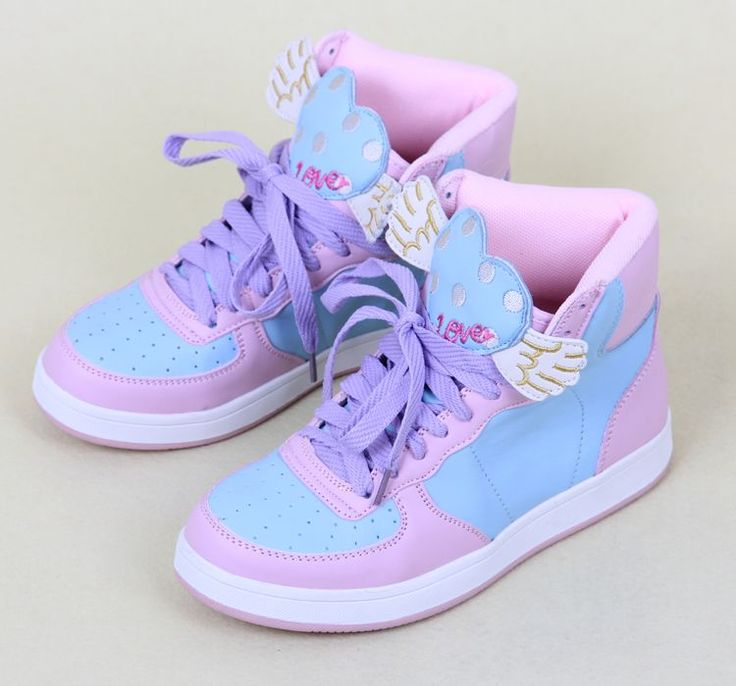 Kawaii sneakers!! They're like Hermes' shoes!! But kawaii!! Must have them!!!
