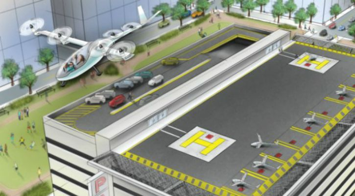 Uber Plans To Launch A Flying Taxi Service in 3yrs With Cars Taking Off Landing Vertically   Uber is diving head-first into the race to create a flying car shedding more light on its plans for a vertical take-off and landing (VTOL) vehicle.  At a conference yesterday the company said its entered into new partnerships with established and emerging aeronautics players like Aurora Flight Sciences Embraer Bell Helicopter Pistrel Aircraft Mooney and ChargePoint.Uber Elevate as the project is…