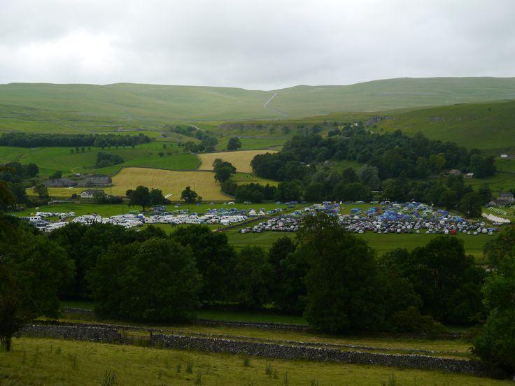 Kilnsey Velofest looking busy