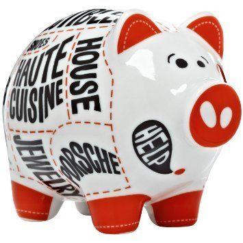 Ritzenhoff Mini Piggy Bank - Martina Shlenke 2013