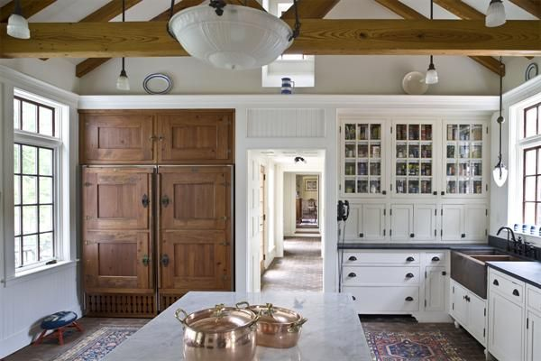 Inspiration: An Award-Winning Historically Sensitive Renovation | David Sharff Architect, P.C.  Double wide sink.