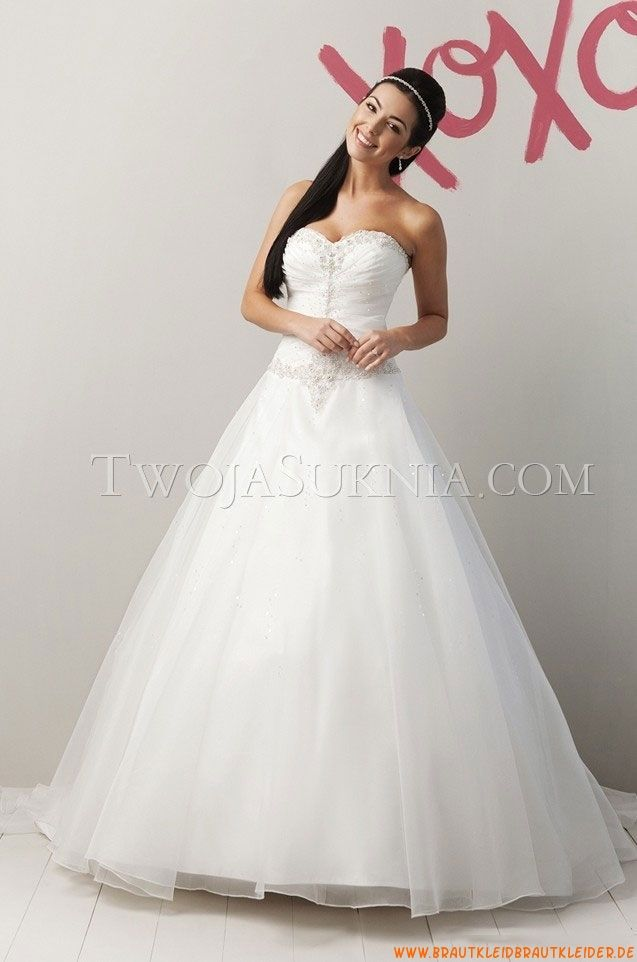 Schnürung  Elegante Brautkleider