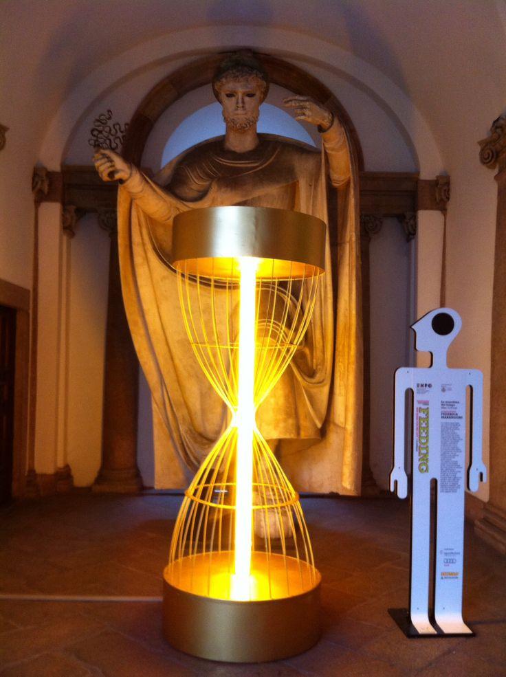 Installation at Università Statale Milano for the #MDW2014