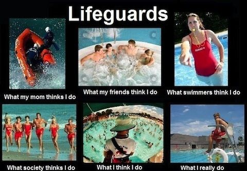 A few of the many struggles that lifeguards face