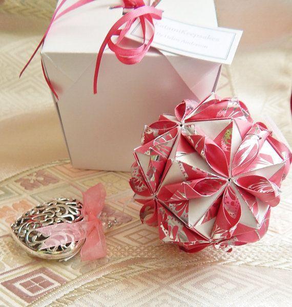 1st Wedding Anniversary Gift  First Wedding by KatamiKeepsakes