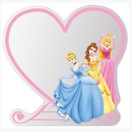 Decofun spiegel Disney Princess   Praxis