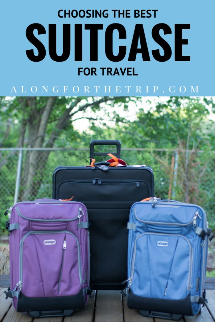 Choosing the best suitcase for travel can be time consuming, but with our suitcase comparison, it doesn't have to be! See our 2017 picks to find the best! | Suitcase Review | Best Luggage