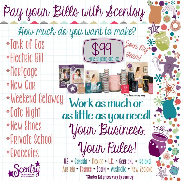 Contact me if you if you are ready to take control of your life.  Https://ditchyourwick.scentsy.us