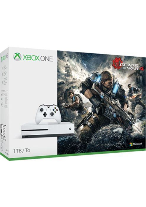 UK Deals: Xbox One S 1TB With Gears of War 4 for Under 250