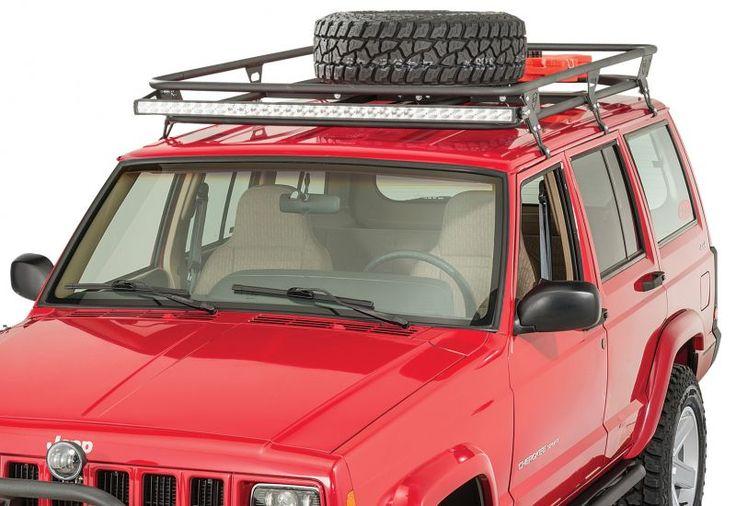 JCR Offroad Adventure Roof Rack for 8401 Jeep Cherokee XJ