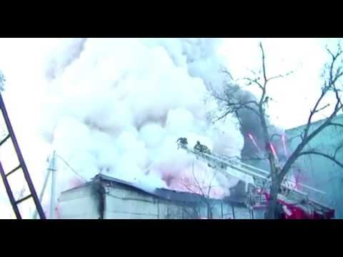 Fireworks warehouse explodes in Russia