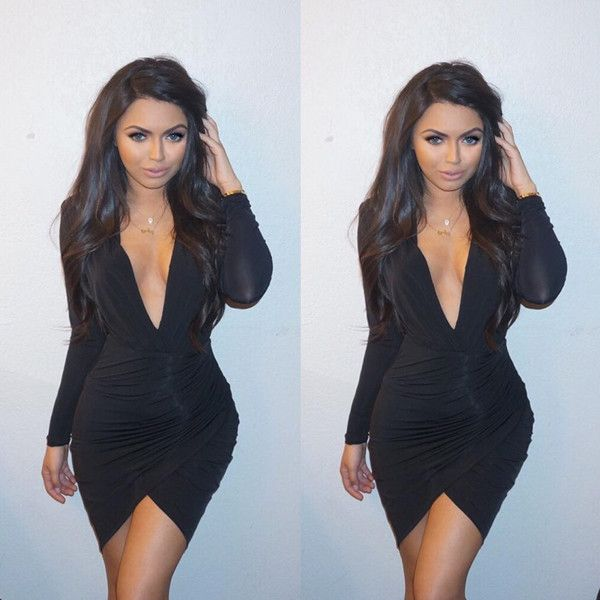 """Durrani Popal from DASH Dolls' Sexiest Instagrams  """"Yesterday's #ootd @mishacollection dress glam by @briavalencia hair by @kipzachary necklaces @jewelsbydurrani"""""""