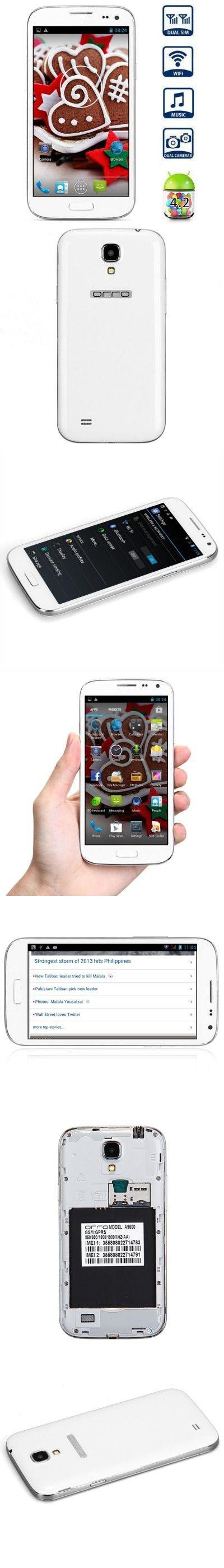 A9500 5.0 inch Phablet MT6572 Dual Core 1.2GHz WVGA Screen Dual SIM Bluetooth