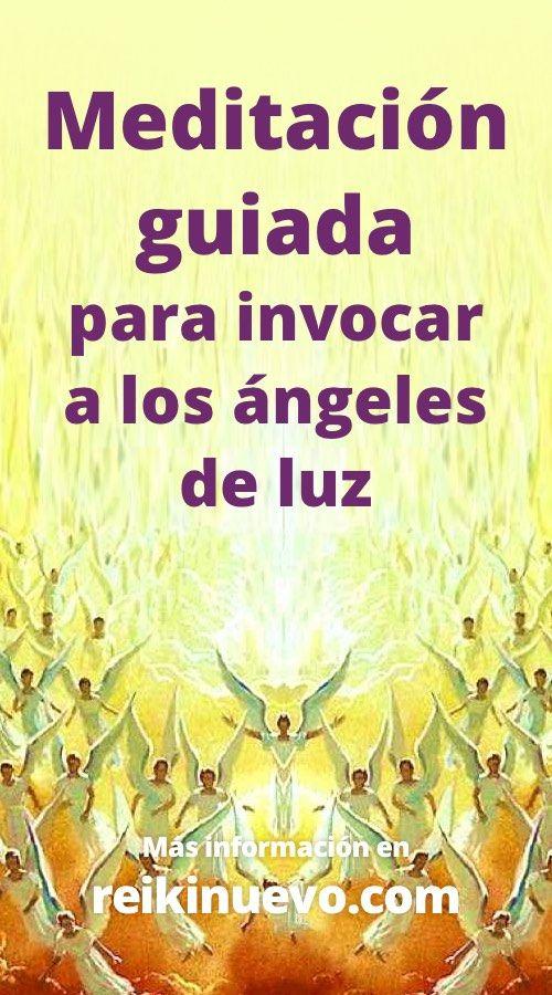Meditación guiada para invocar a los ángeles de luz. Más información: https://www.reikinuevo.com/meditacion-invocar-angeles-luz/