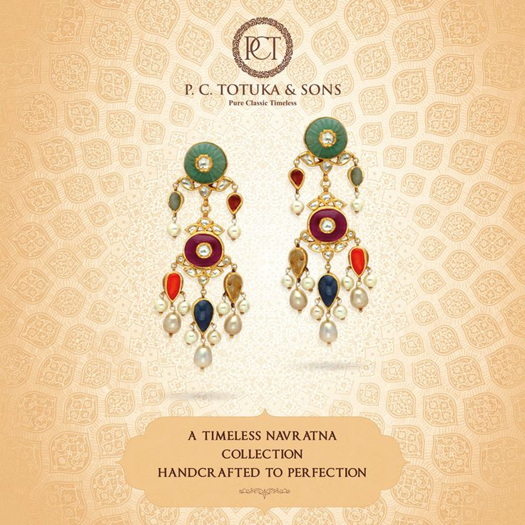 Crafted for the discerning, this luxuriously opulent piece is a beautiful blend of the tradition and modernity. #BridalCollection #Brides #Jewelry #Navratna #Jaipur #WeddingCollection #Contemporary #Authentic #Gold ‬