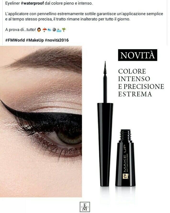Eyeliner waterproof