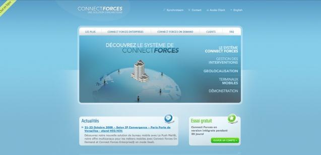 ConnectForces #webdesign #gatineau #ottawa #websitedesign #france