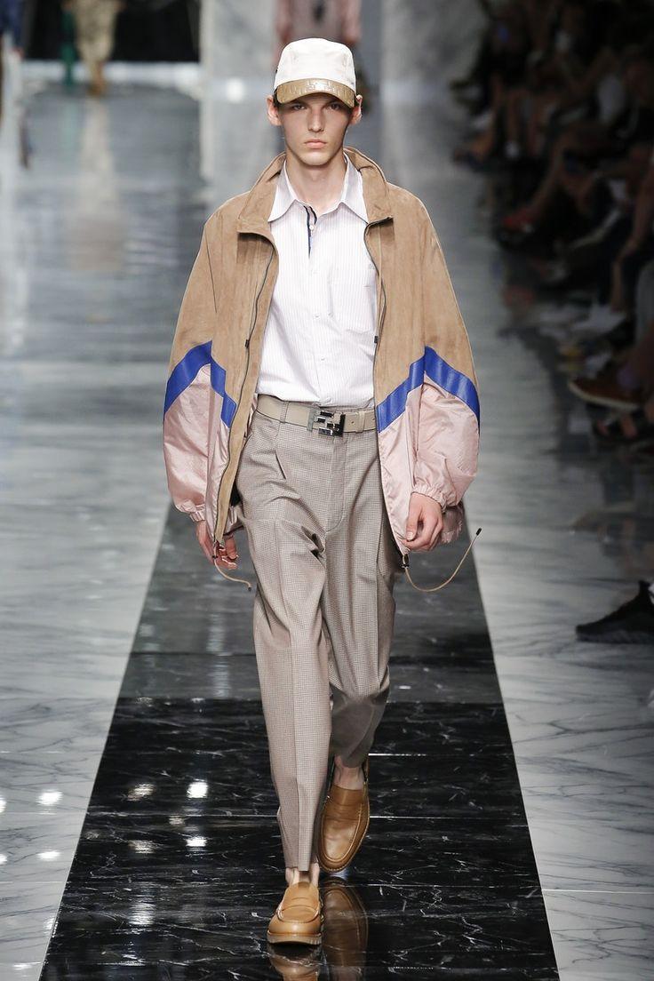 Fendi | Menswear - Spring 2018 | Look 41